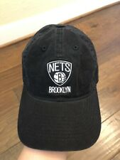 Brooklyn Nets Baseball Hat Black By Adidas Adult Size