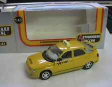 Lada 2112 VAZ Taxi gelb Russisches Modell metall 1:43. OVP