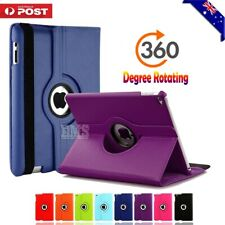 360 Rotate Leather Case Cover For Apple iPad 2 3 4 5th 6th Gen Air 1 2 Mini 2 3