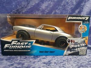 Jada 2015 Fast and The Furious 1/24 MIB Roman's Chevy Camaro 97158 Furious 7