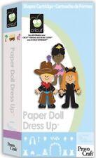 CRICUT Cartridge *Paper Doll Dress Up* NIB   29-0412