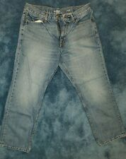 Goodfellow Relaxed Straight Leg Blue Jeans Mens 34 X 30