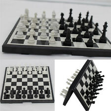 Magnetic Folding Chessboard Chess Board Box Set Portable Kids Game Toy Puzzle #3
