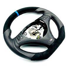 Échange Aplati Volant en Cuir BMW M-POWER E82 E84 E87 E88 E90 E91 E92 E93 Bleu
