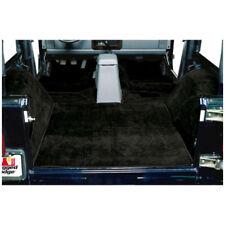 Carpet Kit  Black Deluxe for Jeep Wrangler TJ  1997-06 13691.01  Rugged Ridge