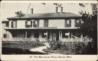 Scituate MA Merrymount House c1905 Postcard