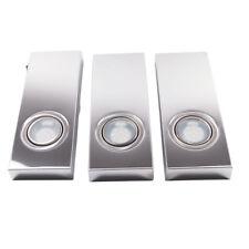 Rolux LED 3er-Set Unterbauleuchten u-ww101 Rechteckleuchten Küchen Leuchten