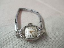 Vintage Bulova Ladies Wrist Watch 10K Rolled Gold 17 Jewels Runs