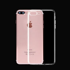 1pc For iPhone 7 / 7 Plus Ultra Thin Clear Crystal Rubber TPU Soft Case Cover