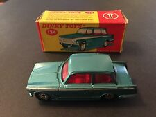Dinky Toys No 134 Triumph Vitesse With Box