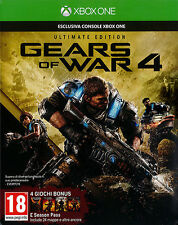 Gears Of War 4 Ultimate Limited Edition XBOX ONE IT IMPORT MICROSOFT