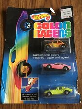 Hot Wheels Color Racers In Package Mattel 1987