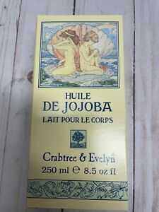 Crabtree & Evelyn Jojoba Oil Body Lotion 8.5 oz with box.
