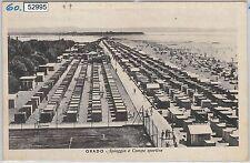 52995  - CARTOLINA d'Epoca - GORIZIA provincia -  GRADO: Spiaggia 1945