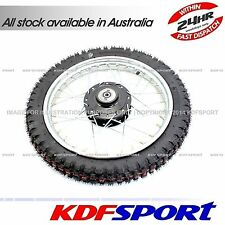 KDF FRONT RIM WHEEL TYRE 80 HUB BIKE TTR90 TTR 90 90CC TUBE FOR YAMAHA PW80 PY80