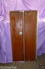1982 Sea Ray 270 DA Cabin Entry Double Folding Door Wooden