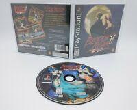 Bloody Roar II 2 (Sony PlayStation 1, PSX, PS1 1999) Complete Black Label, CIB