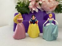 Vintage Disney Princess Cinderella Snow White Figurine Set of 3 Figurines EUC