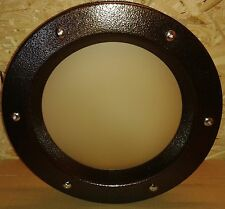 PORTHOLE FOR DOORS SAFETY GLASS phi 350 mm STAINLESS STEEL