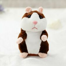 Talking Hamster Lovely Plush Toy Cute Speak Sound Record Toy EM Xmas Educational