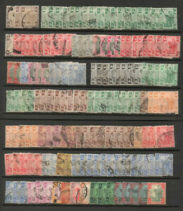MALAYA FMS accumulation of good used issues 1900 to 1934