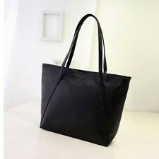 Womens Solid Leather High Capacity Messenger Handbag Totes SatchelShoulderBags
