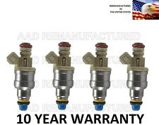 *10 YEAR WARRANTY* Genuine Denso Flow Matched Set of 4 fuel injectors for 2.3L