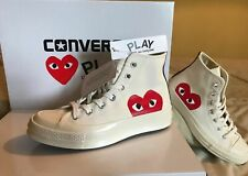 Converse x Comme Des Garcons Cdg Play All Star Blanc Haut Top UK 8