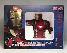 Happy Kuji Prize A Marvel Civil War Iron Man Mark XLVI Resin Bust Figure Statue