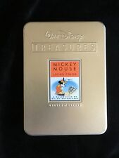 """Mickey Mouse DVD """"In Living Colour"""" Ltd Edition 2 Discs In presentation tin."""