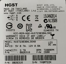 "HUS723030ALS640 Ultrastar 3.5"" 3TB 7.2K 64MB SAS 6.0Gb/s Enterprise HDD"