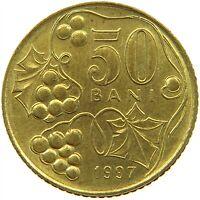 ROMANIA 50 BANI 1997 TOP #s22 591