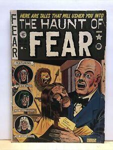 The HAUNT of FEAR # 8 EC COMICS 1951 GOLDEN AGE HORROR SHRUNKEN HEAD Original