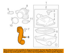 Scion TOYOTA OEM 11-16 tC Air Cleaner Intake-Inlet Hose Duct Tube 1775136020