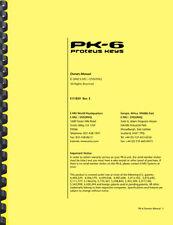 Ensoniq E-MU PK-6 Proteus Keys OWNER'S MANUAL