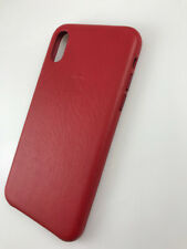1x Original Genuine Authentic OEM Apple Leather Case for iPhone X XS Product Red