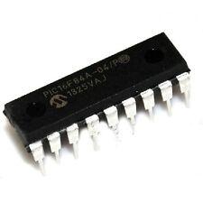 10PCS PIC16F84A-04/P PIC16F84A DIP-18 EEPROM 8-Bit Microcontroller NEW