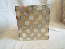 """Vintage Checkerboard style Tissue Box Cover 6"""""""