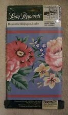 NEW LADY PEPPERELL PEONY WALLPAPER BORDER BORDEN HOME WALLCOVERINGS 15 FEET