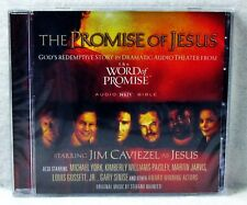 NEW The Promise of Jesus the Word of Promise Audio CD NKJV Bible Jim Caviezel