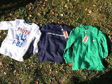 Original Marines lotto 3 magliette polo T-shirt manica lunga bambino