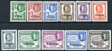 SOMALILAND-1951 New Currency Set to 5/- on 5/- Sg 125-135 MOUNTED MINT V25877