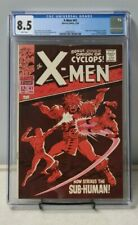 X-Men 41 (Uncanny, 1968)  CGC 8.5  * 1st Appearance of Grotesk *