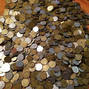 17 Pound Collector Token Lot: Mixed Sizes - Zoo, Carousel, Aquarium, Souvenir