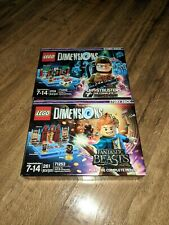 LEGO Dimensions Story Pack Bundle Fantastic Beasts and Ghostbusters (Lot of Two)