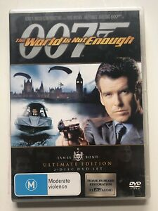 The World Is Not Enough (DVD, 2006, 2-Disc Set) Region 4
