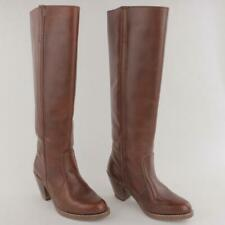 Vintage Dexter DEX Women Brown Leather Knee High Boots Made In USA Size 5M