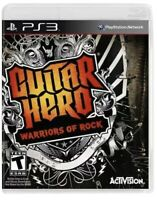 Guitar Hero: Warriors of Rock PlayStation 3,PS3 Game T-kids Band Music