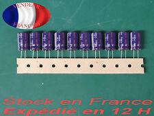 3300 uF 10 V condensateur capacitor X10  85°C marque/brand : PANASONIC