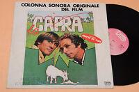 LA CAPRA COLONNA SONORA ORIGINALE  SOUNDTRACK 1°ST AUDIOFILI TOP EX+